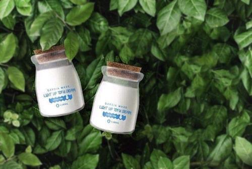 Kem dưỡng trắng Garsia Made Light Up Tofu Cream có tốt không-1