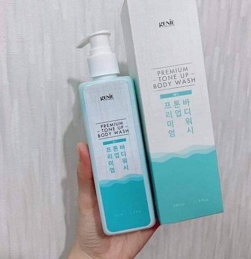 Sữa tắm Genie Premium Tone Up Body Wash có tốt không-3