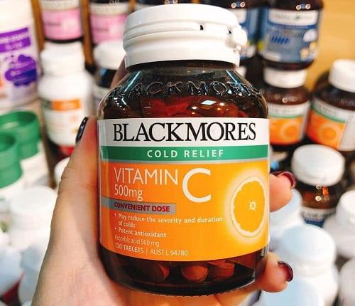 Viên uống Vitamin C 500mg Blackmores giá bao nhiêu-3