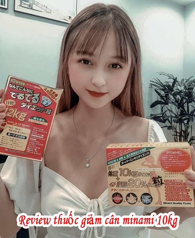 Review thuốc giảm cân minami 10kg của Nhật có tốt không? 2