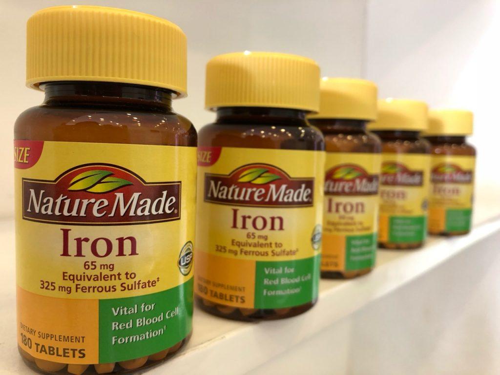 Viên uống bổ sung sắt Nature Made Iron 65mg Mỹ có tốt không? 2