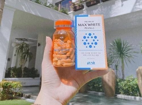 Viên uống trắng da Premium Max White Plus có tốt không-1