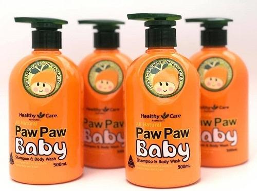 Sữa tắm gội đu đủ Paw Paw Baby có tốt không-1