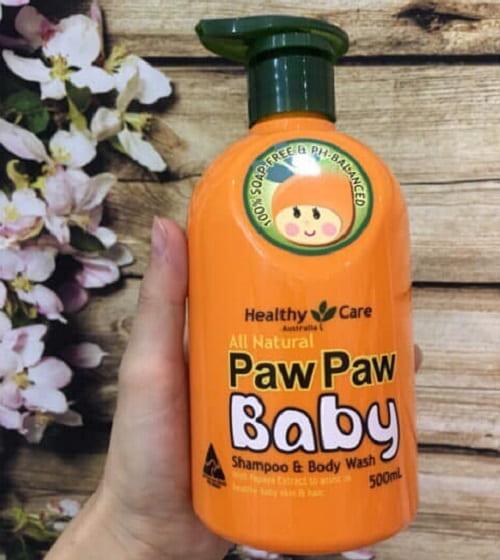 Sữa tắm gội đu đủ Paw Paw Baby có tốt không-2