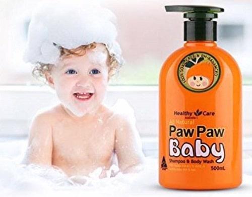 Sữa tắm gội đu đủ Paw Paw Baby có tốt không-3