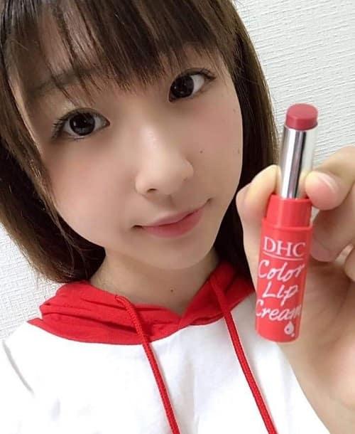 Son dưỡng DHC Color Lip Cream review-5