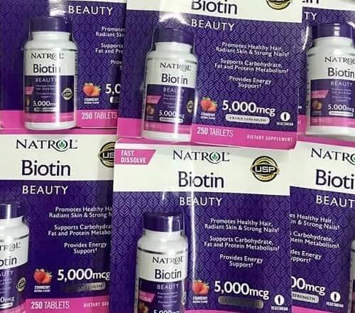 Viên ngậm Natrol Biotin Beauty có tốt không-1
