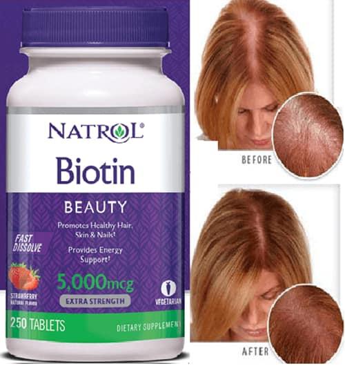 Viên ngậm Natrol Biotin Beauty có tốt không-3