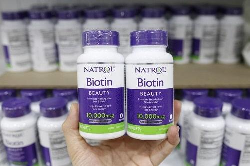 Viên uống mọc tóc Natrol Biotin có tốt không-2