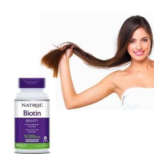 Viên uống mọc tóc Natrol Biotin có tốt không-3
