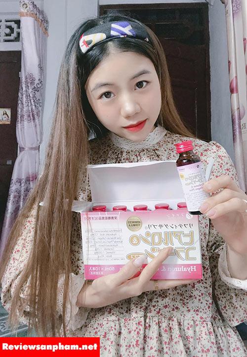 4.3 Nước uống Hyaluron collagen Plus Fine Japan