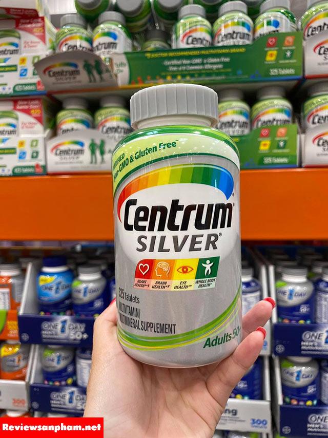 Tác dụng của centrum silver 50+: