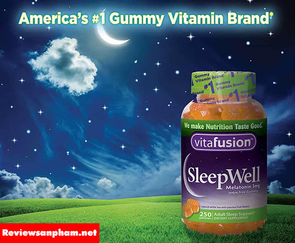 Review kẹo ngủ Vitafusion có thực sự tốt không?
