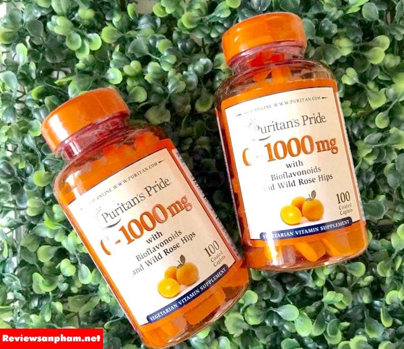2. Vitamin C 1000mg Timed Release Puritan's Pride của Mỹ