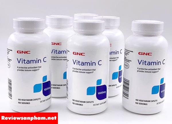 3. GNC Vitamin C 1000mg hộp 100 viên của Mỹ