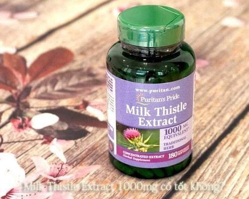 Milk Thistle Extract 1000mg có tốt không? Đây là thuốc gì?-1
