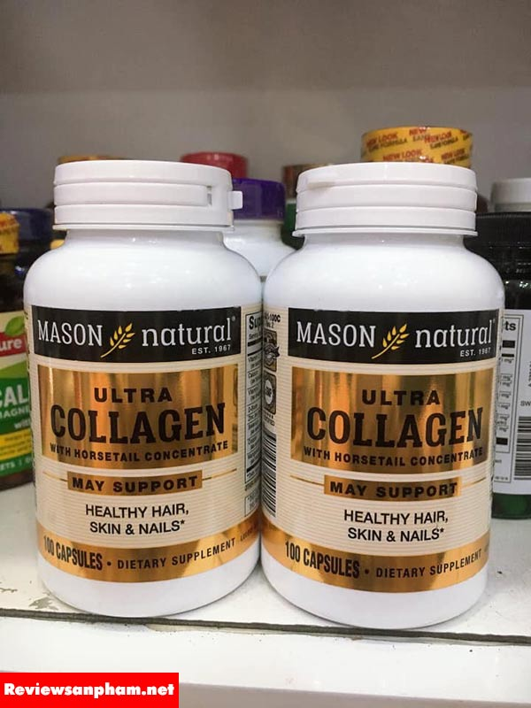 Công dụng mason natural ultra collagen: