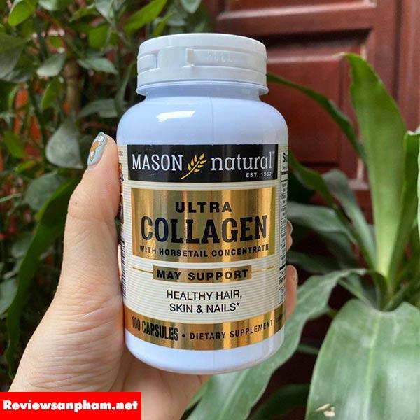 Viên uống mason natural ultra collagen review có tốt không?