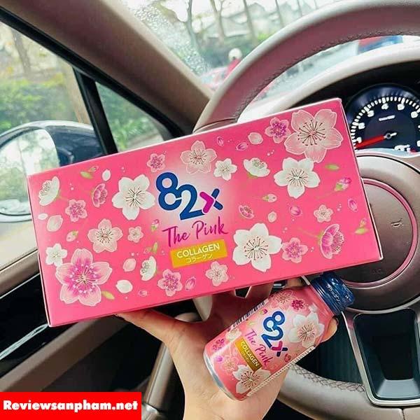 Review Collagen 82X The Pink có tốt không? giá bao nhiêu tiền