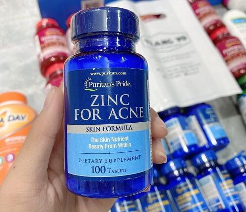 Viên kẽm trị mụn Zinc For Acne có tốt không?-2