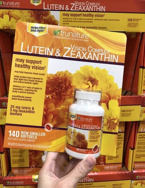 Viên uống bổ mắt Trunature Lutein & Zeaxanthin review-2