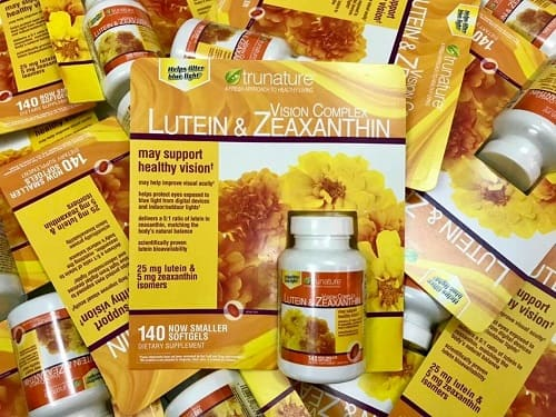 Viên uống bổ mắt Trunature Lutein & Zeaxanthin review-3